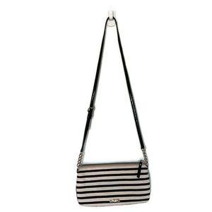Kate Spade Crossbody Bag Striped W Bow